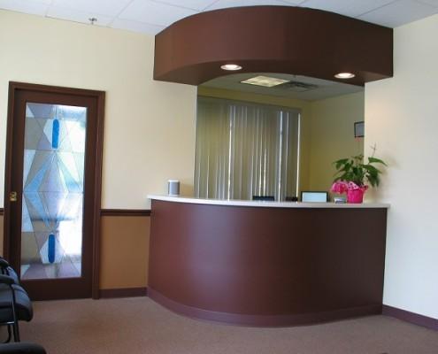 Pai Dental Office Reception