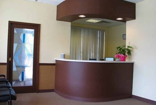 Pai Dental Office Reception